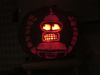 bender says Happy Halloween!